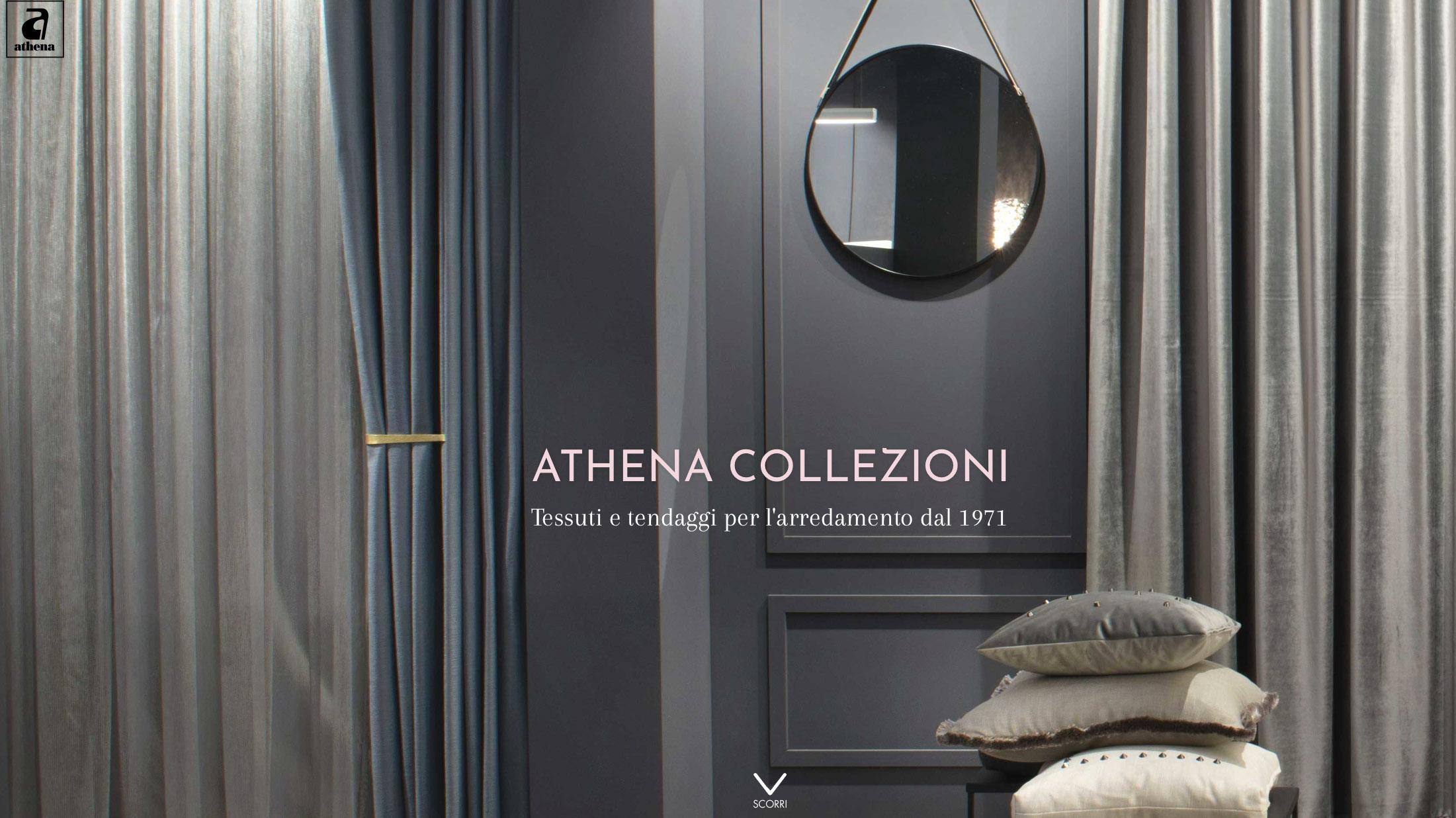 Tende E Tendaggi Milano athena collezioni   tessuti e tendaggi per l'arredamento